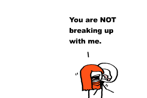 you are breaking up